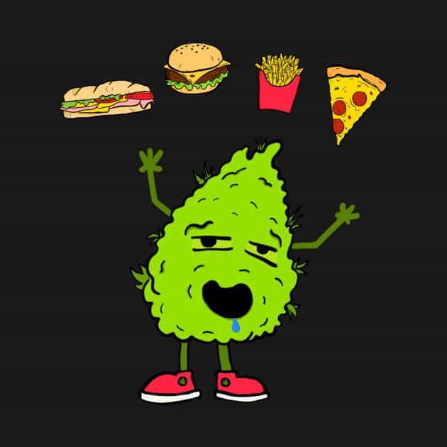 cannabis e cibo spazzatura aumento consumi